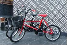 横浜山手の散策に便利な電動サイクルが無料!